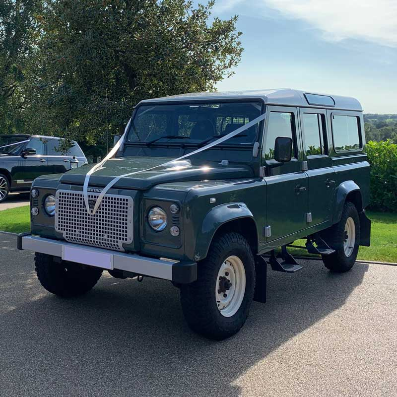 Classic wedding car hire in Yorkshire_Landrover-Icon